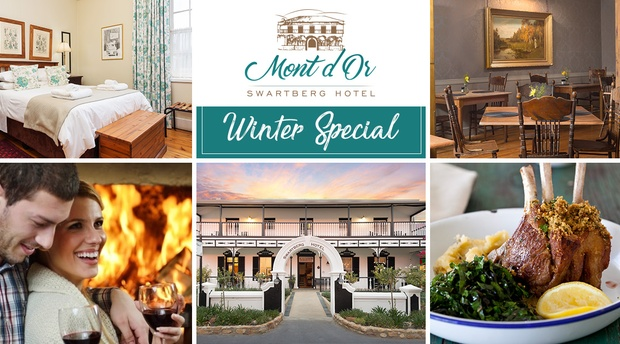 accommodation prins albert winter special offer